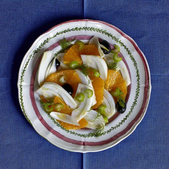 insalata finocchi-arance
